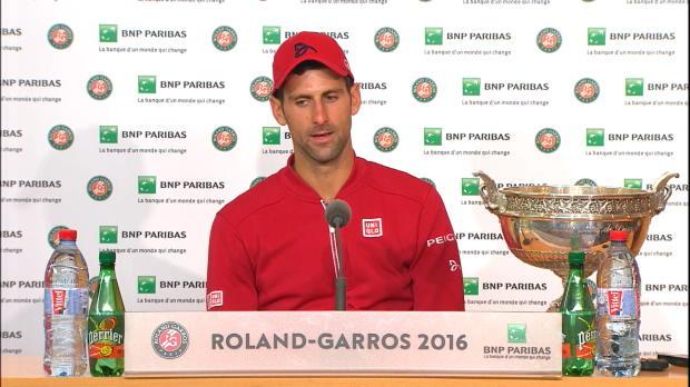 "French Open: Djokovic: ""Habe Liebe gespürt"""