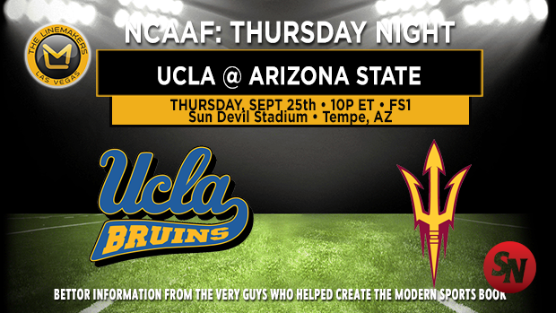 UCLA Bruins @ Arizona State Sun Devils