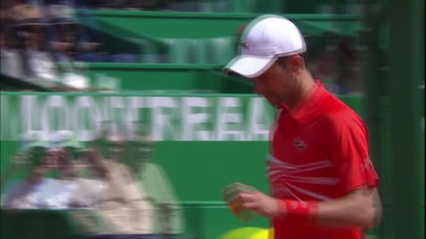 Monte-Carlo - Djokovic expédie Fritz