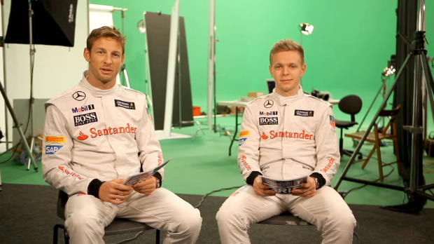 Button and Magnussen, McLaren Q&A