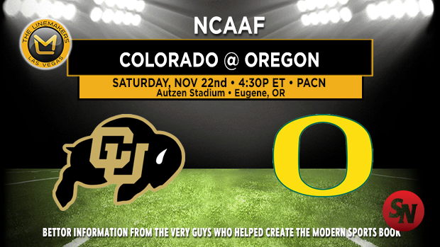 Colorado Buffaloes @ Oregon Ducks