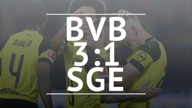 Fast Match Report: Borussia Dortmund - Frankfurt