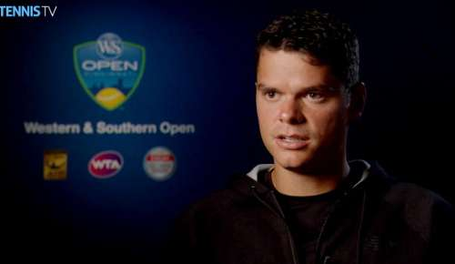 Raonic Interview: ATP Cincinnati QF