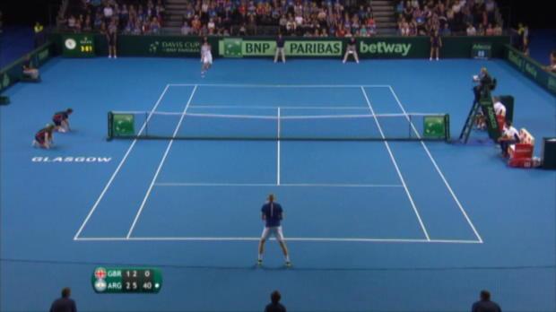 Davis Cup: Del Potros Revanche gegen Murray