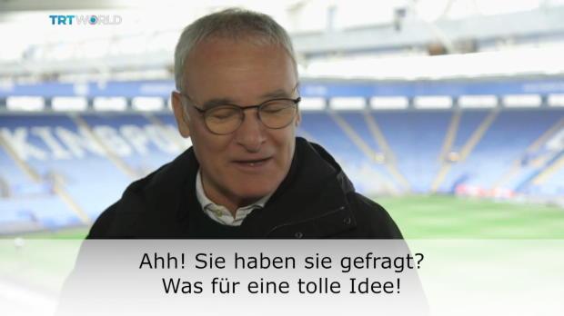 Emotionale Fan-Botschaft für Claudio Ranieri