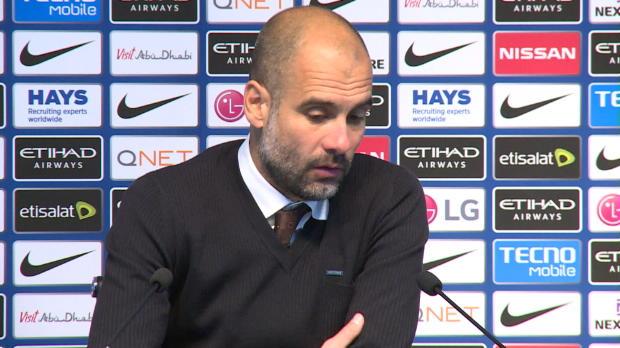 """Guardiola: """"Unser Kampf geht weiter"""""""