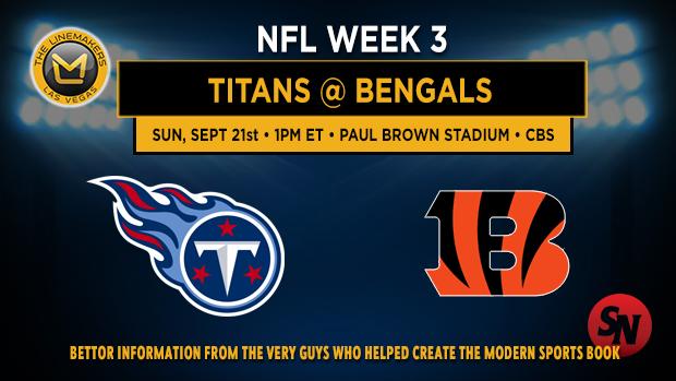 Tennessee Titans @ Cincinnati Bengals