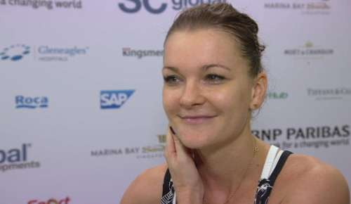 Radwanska Interview: WTA Singapore RR