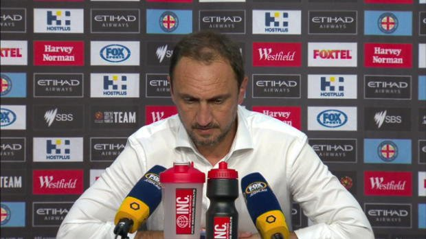 Melbourne City Rd23 press conference