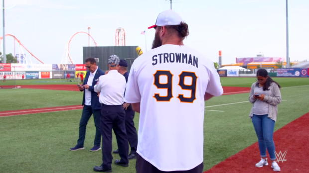 How many homeruns did Braun Strowman hit in Brooklyn?