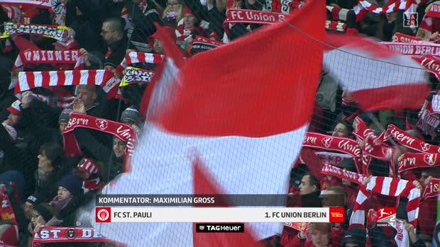 2. Bundesliga: FC St. Pauli - 1. FC Union Berlin | DAZN Highlights