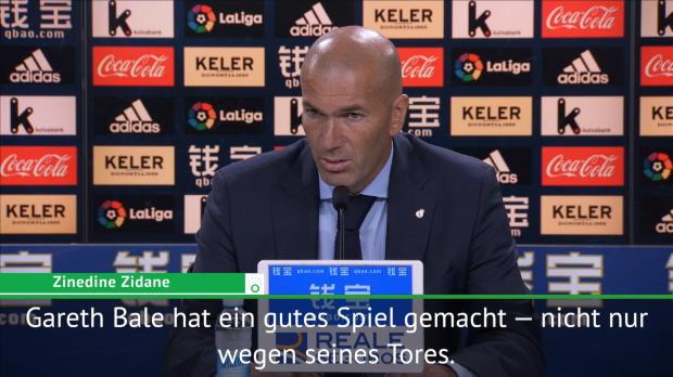 """Zidane: Glücklich über """"typisches Bale-Tor"""""""