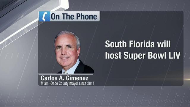 Mayor Gimenez: Stadium investment won us Super Bowl LIV bid