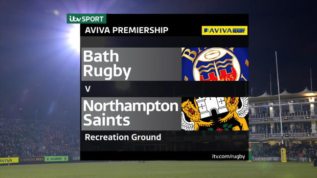 Aviva Premiership - Match Highlights:Bath Rugby v Northampton Saints