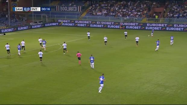 Serie A: Sampdoria - Inter Mailand | DAZN Highlights