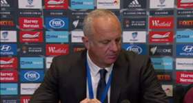 Proud Sydney FC coach Graham Arnold praised his understrength side following opening round draw.