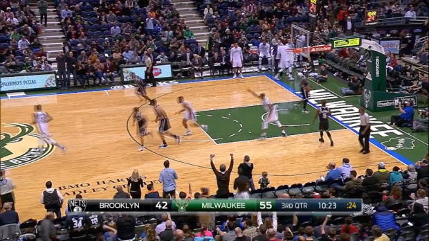 Assist of the Night - Giannis Antetokounmpo