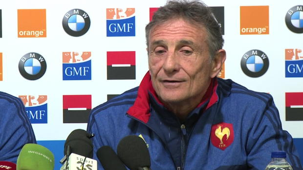 XV de France - Nov�s s'explique sur le couac David Smith