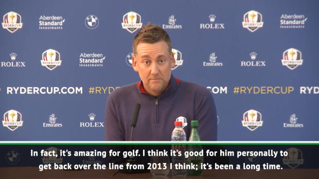 Tiger comeback has been inspirational - Poulter