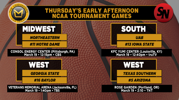 Thursday Early Afternoon Games