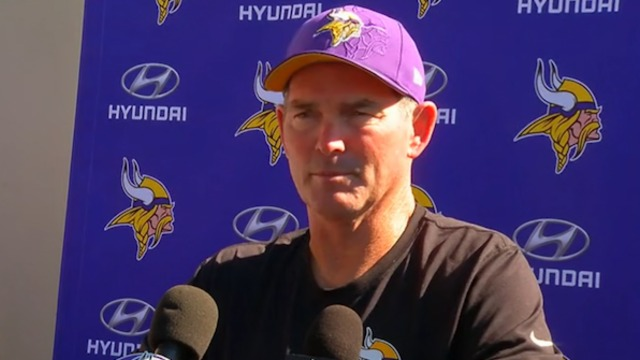 Mike Zimmer: Low chance Bridgewater plays this season