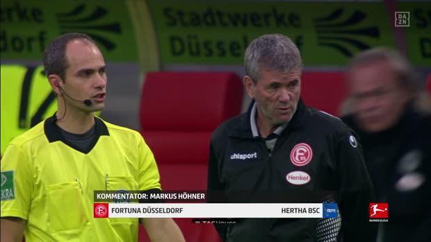Bundesliga: Fortuna Düsseldorf - Hertha BSC   DAZN Highlights
