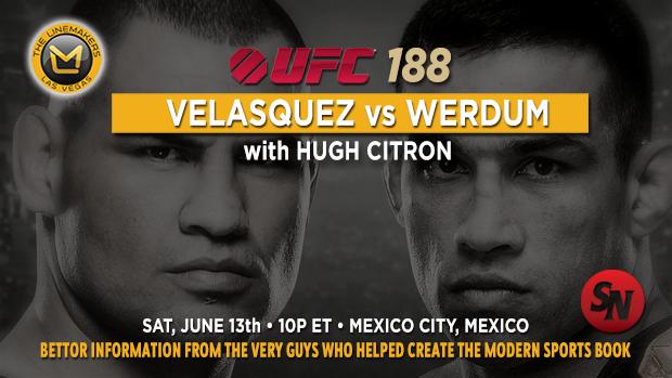UFC 188 Velasquez Vs Werdum