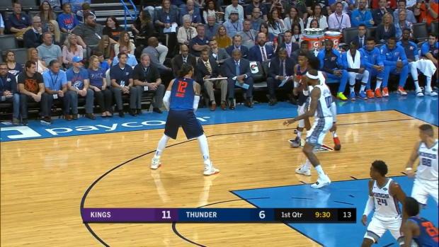 WSC: Russell Westbrook, Paul George Highlights vs. Sacramento Kings