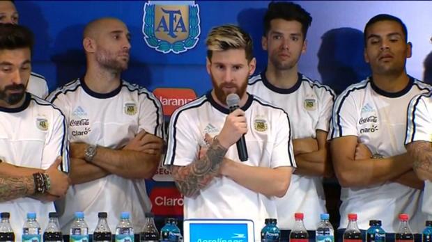 WM-Quali: Messi: Wir boykottieren die Medien!
