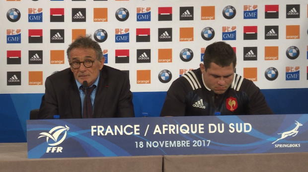 """Rugby : XV de France - Novès - """"Je ne maîtrise pas mon avenir"""""""