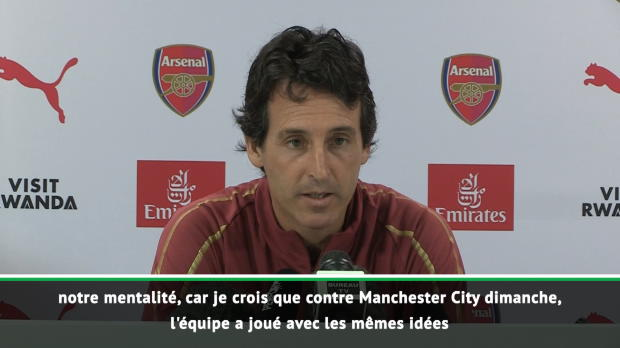 2e j. - Emery - 'Nous voulons bâtir une équipe compétitive'