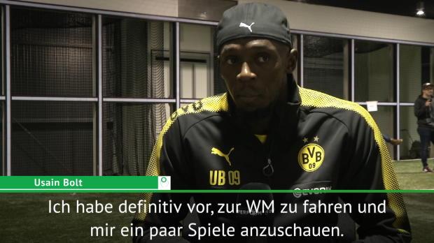 """WM 2018: Bolt sicher: """"Deutschland Titelfavorit"""""""