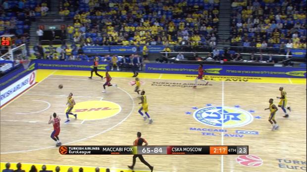 Basket : Euroligue (24e j.) ? De Colo dans tous les bons coups contre le Maccabi