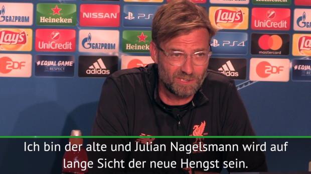 """CL-Quali: Klopp zu Nagelsmann: """"Der neue Hengst"""""""