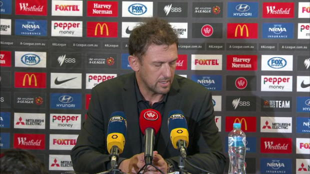 Wanderers Rd19 press conference