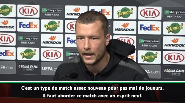 Rennes - Johansson - 'Un match spécial par rapport à la Ligue 1'