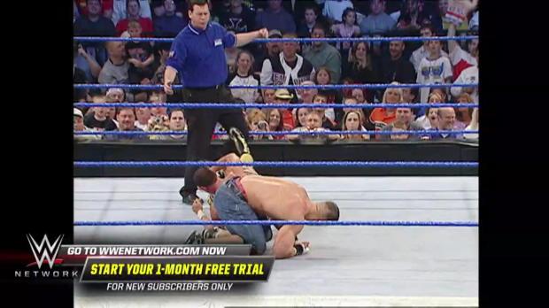 John Cena obliterates Chavo Guerrero: SmackDown, April 15, 2004 (WWE Network Exclusive)