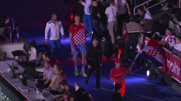 Davis Cup: Kroatien - Argentinien, Tag 3