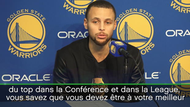 Basket : NBA - Warriors - Curry dévoile les dessous de l'écrasante victoire contre Cleveland