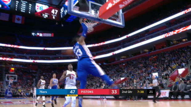 Steal of the Night: Robert Covington