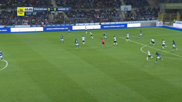 Ligue 1: Strassburg - Amiens | DAZN Highlights