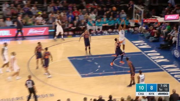 GAME RECAP: Knicks 120, Hornets 101