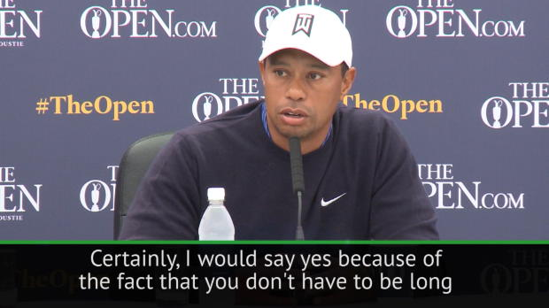 Open my best chance to win a major - Tiger