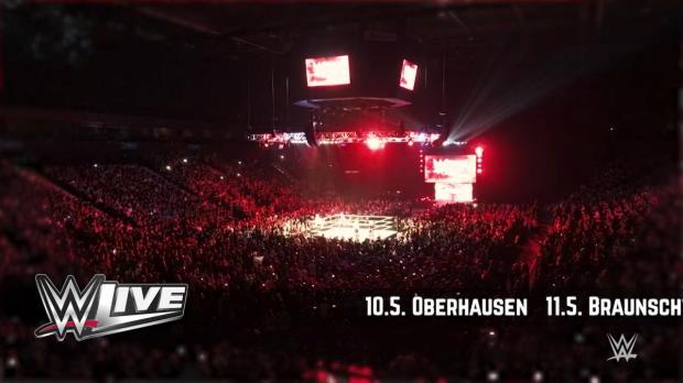 WWE Live - das unvergleichliche Erlebnis kehrt im Mai zurück