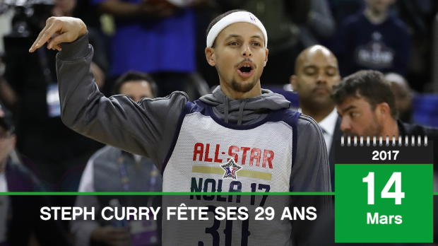 Basket : NBA - 14 mars - Joyeux anniversaire Steph Curry !