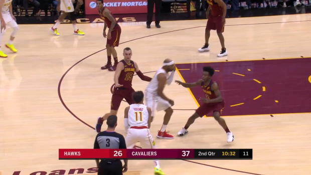 WSC: Trae Young with 5 3-pointers in the Game vs. Cleveland Cavaliers