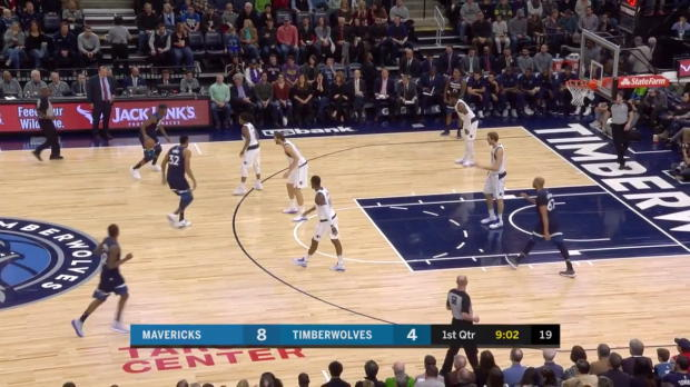 WSC: Karl-Anthony Towns (28 points) Highlights vs. Dallas Mavericks