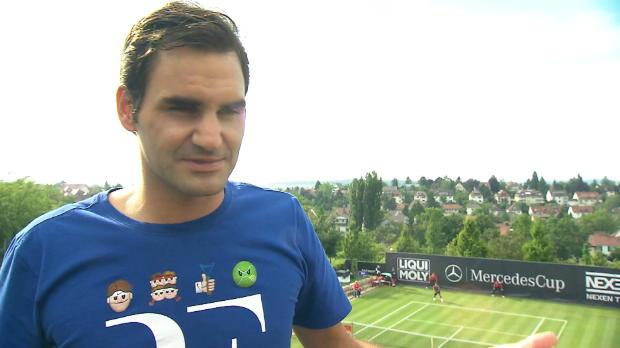 """Stuttgart: Federer: """"Riesig hier zu spielen"""""""