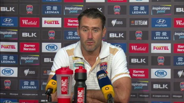 Newcastle Jets Rd23 press conference