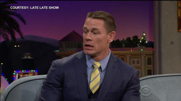 "John Cena dances with Hugh Jackman on ""The Late Late Show with James Corden"""